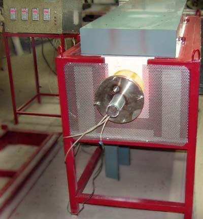 Трубчатая кварцевая электропечь