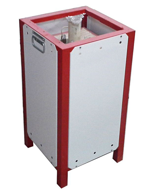 Электропечь трубчатая вертикальная С-0,6.1100.1Ф